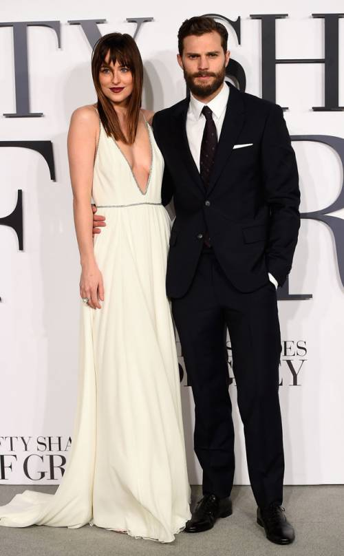 "Dakota Johnson e Jamie Dornan, sexy protagonisti di ""50 Sfumature"" 26"