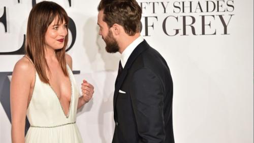 "Dakota Johnson e Jamie Dornan, sexy protagonisti di ""50 Sfumature"" 30"