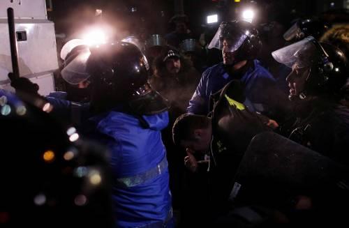 Romeni in piazza contro la corruzione 19
