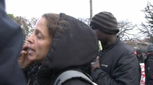 Veronica Padoan al corteo degli immigrati di San Ferdinando 9