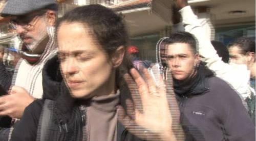 Veronica Padoan al corteo degli immigrati di San Ferdinando 6