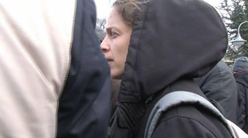 Veronica Padoan al corteo degli immigrati di San Ferdinando 4
