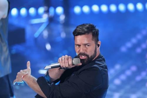 """Sanremo, Ricky Martin si confessa: """"Voglio sposarmi e avere una bimba"""""""