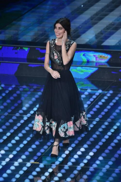 Bianca Atzei si commuove sul palco di Sanremo 4