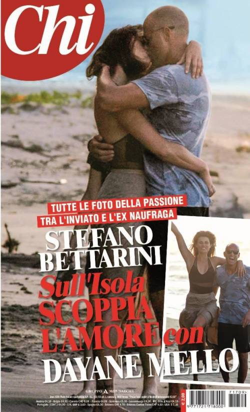 Isola dei Famosi, esplode la passione tra Stefano Bettarini e Dayane Mello
