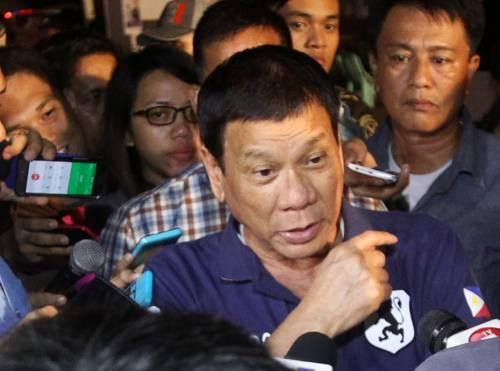 """""""Via i soldati Usa dal Mindanao"""""""