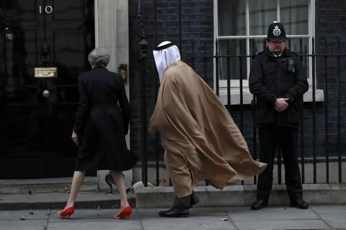 Il principe di Abu Dhabi a Downing Street