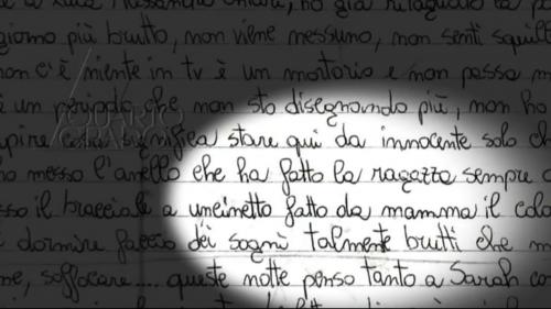 Le firme e la grafia di Michele, Cosima e Sabrina