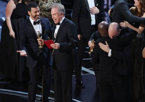Le immagini della notte degli Oscar 3