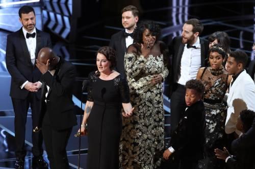 Le immagini della notte degli Oscar 7