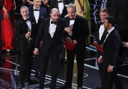 Le immagini della notte degli Oscar 9