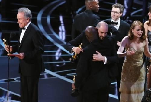 Le immagini della notte degli Oscar 10