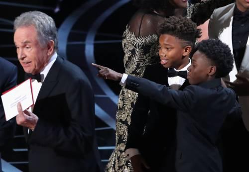 Le immagini della notte degli Oscar 13