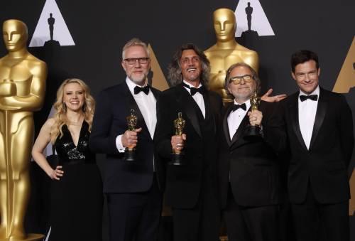 Le immagini della notte degli Oscar 14
