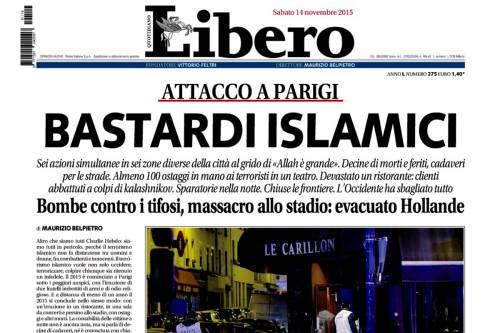 """Titolò """"Bastardi Islamici"""": ora Belpietro va a giudizio"""