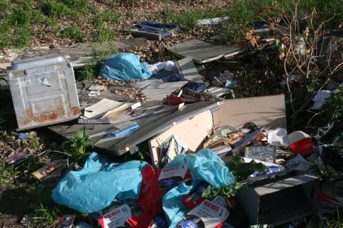 Le sponde del Tevere ospitano le baracche dei rom 16