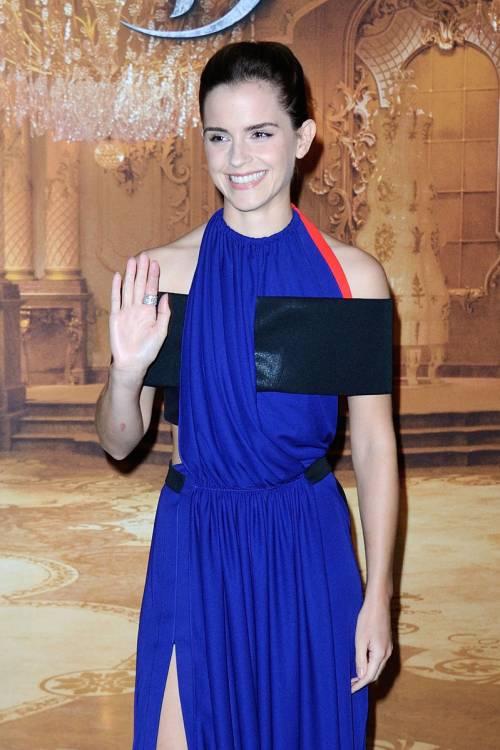 Emma Watson, sexy Bella sul red carpet 26