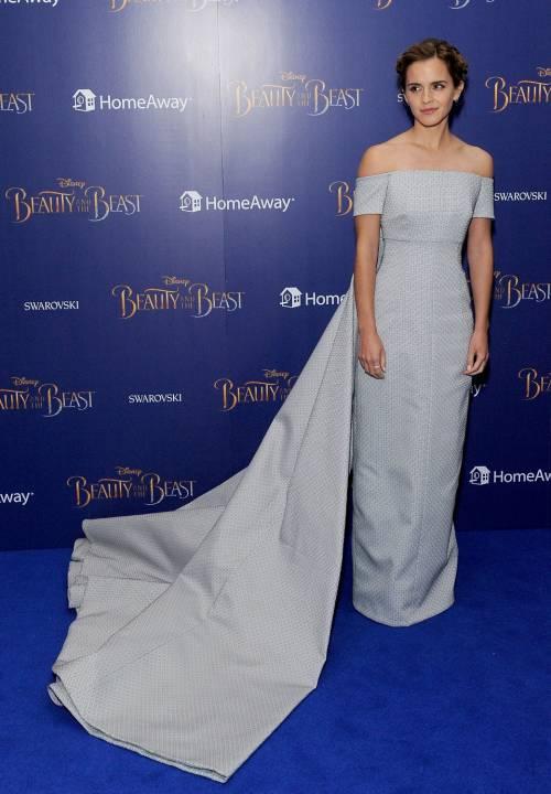 Emma Watson, sexy Bella sul red carpet 7