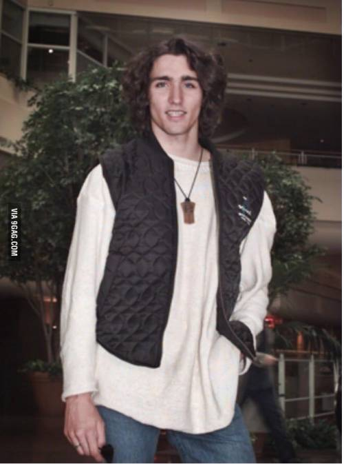 Justin Trudeau, le foto da giovane che stanno facendo impazzire il web 10