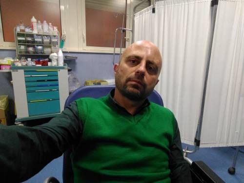 Luca Abete aggredito  da un gruppo di migranti
