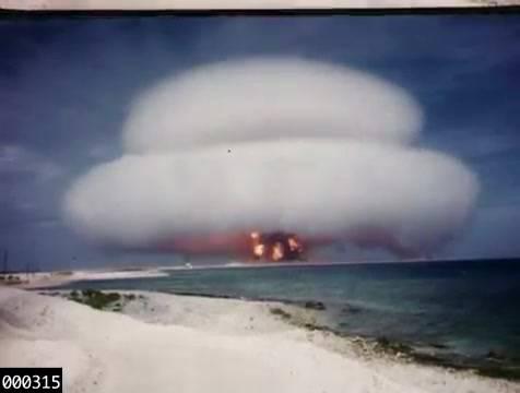 I filmati dei test per le armi nucleari Usa non sono più segreti