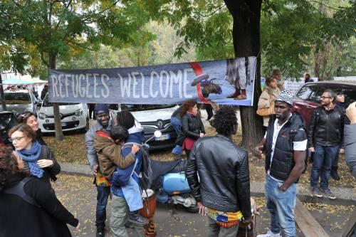 Milano, due giorni di festa all'ex caserma di Montello in onore dei profughi 13