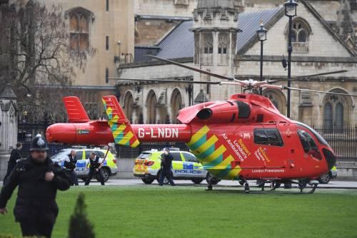 Spari al parlamento a Londra 3