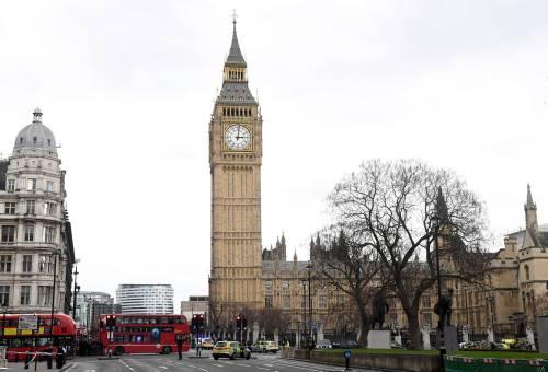 Spari al parlamento a Londra 4