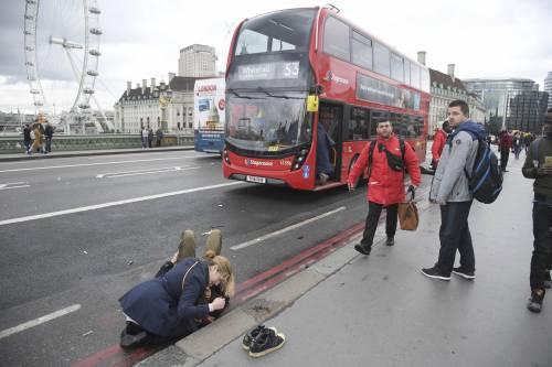 Feriti al Westminster Bridge 4