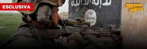In trincea con l'italiano che combatte l'Isis a Mosul