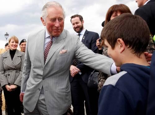 Amatrice, il principe Carlo in visita nel paese distrutto dal terremoto 14