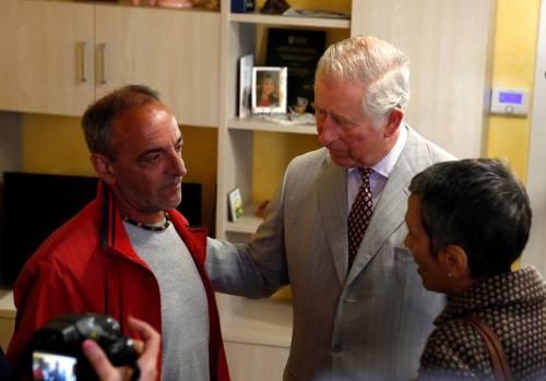 Amatrice, il principe Carlo in visita nel paese distrutto dal terremoto 15