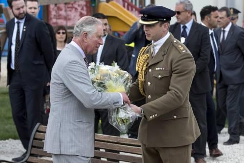 Amatrice, il principe Carlo in visita nel paese distrutto dal terremoto 10