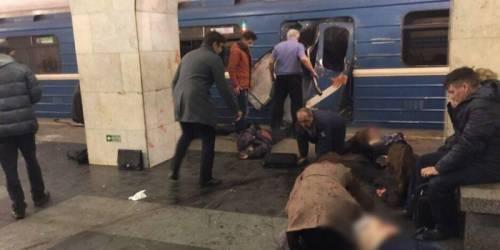 "Russia, ""esplosione in metro"" a San Pietroburgo 1"