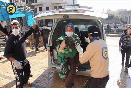 """Se le bombe chimiche di Idlib sono prodotte dai ribelli """"moderati"""""""