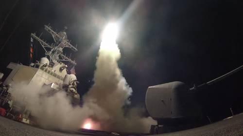 Missili Usa contro la Siria
