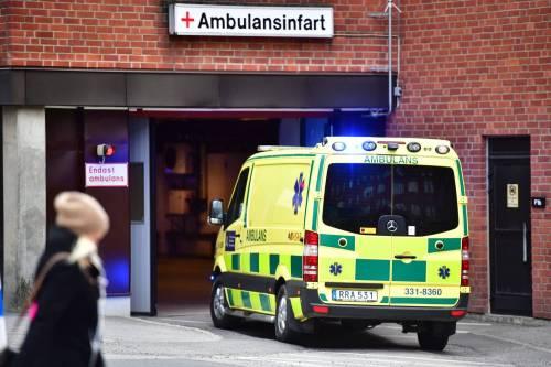 Camion sulla folla in centro a Stoccolma 16