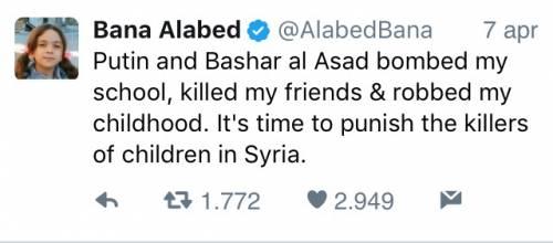 """Fake news e propaganda in Siria: è tornata anche """"la piccola Bana"""" 2"""