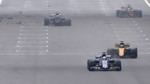 F1, l'incidente di Antonio Giovinazzi 7