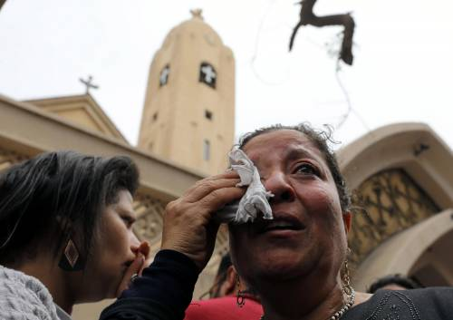 Attentato jihadista contro una chiesa nel Delta egiziano 1