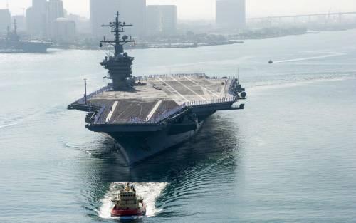 La portaerei Carl Vinson 4