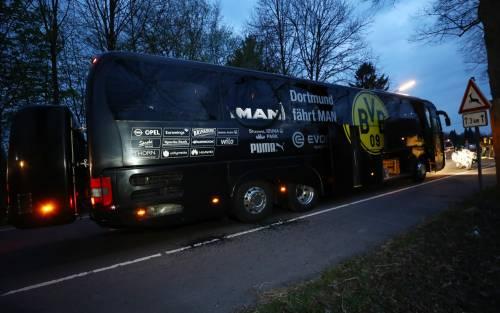 Bomba carta contro il bus del Borussia Dortmund 3