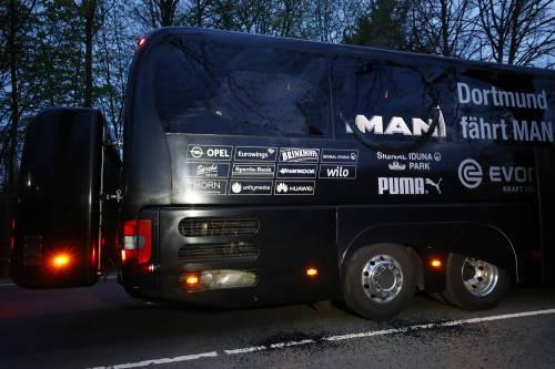 Bomba carta contro il bus del Borussia Dortmund 8