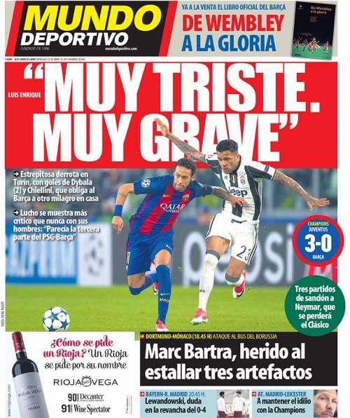 La stampa spagnola attacca il Barcellona 2