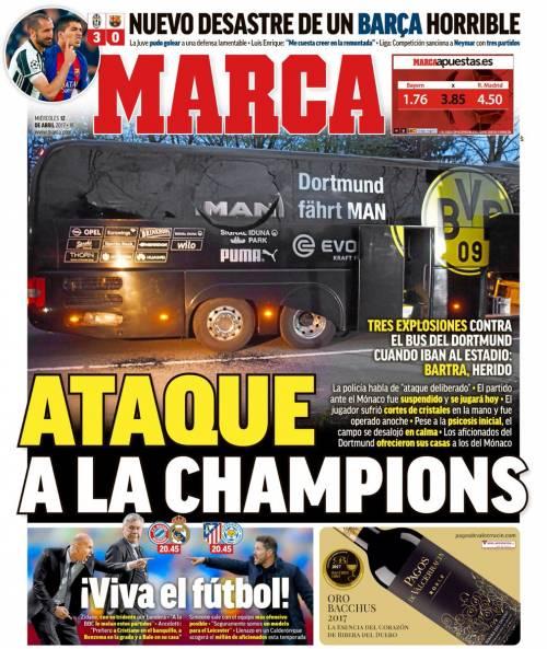 La stampa spagnola attacca il Barcellona 4
