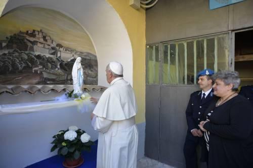 La Messa del Papa alla Casa di reclusione di Paliano 4