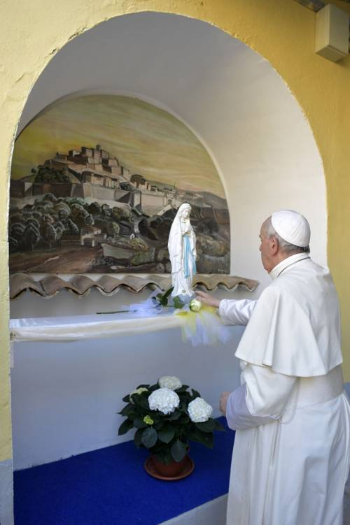 La Messa del Papa alla Casa di reclusione di Paliano 8