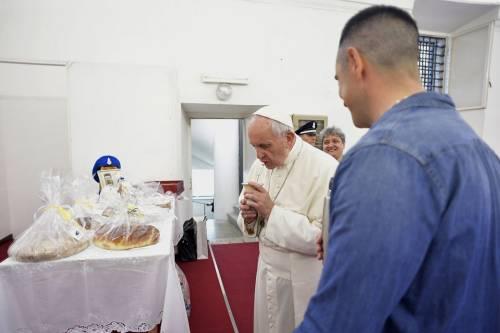 La Messa del Papa alla Casa di reclusione di Paliano 2