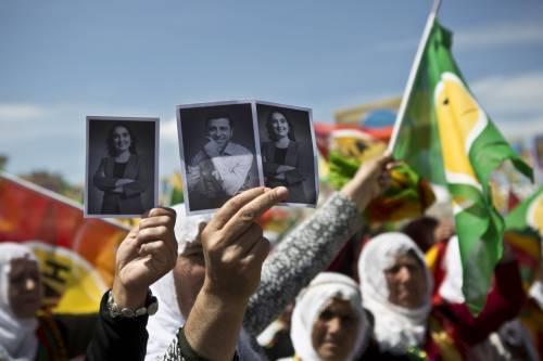 """L'Hdp filo-curdo in piazza per il """"no"""" a Batman 5"""