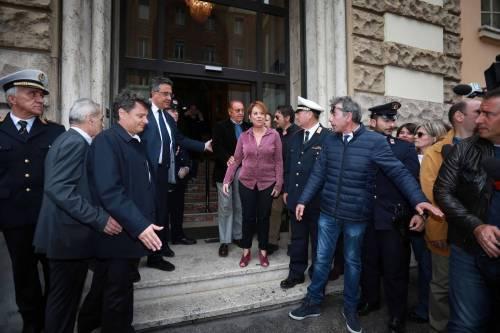 L'ultimo saluto a Gianni Boncompagni: la camera ardente è aperta al pubblico 6